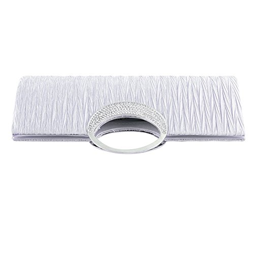 Clutch Damen , Taschen , Umhängetasche , Handtaschen - für Partei , Beiläufig , Hochzeit - PRIAMS 7 Grau