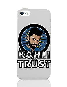 Posterguy Kohli Cover Case For Apple Iphone 5 (White)