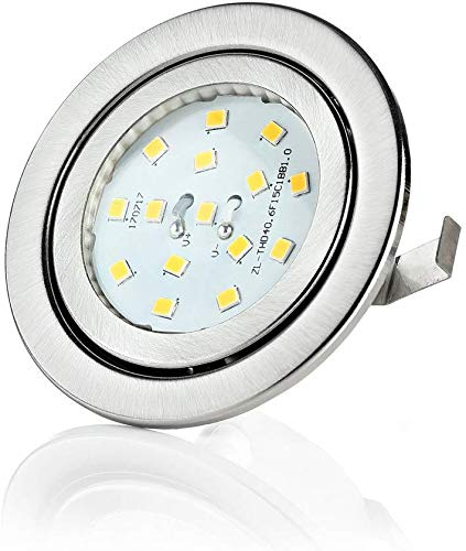 Sweet Led-Foco de LED, 230V, 3W, muebles, empotrables plana, ultra plano einbaulampen