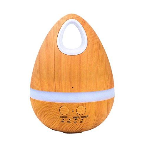 Honeywell Ganze Haus Luftbefeuchter (wuayi Ei Form Aromatherapie Ätherisches Öl Diffusor 200 ml Luft Aroma Luftbefeuchter Ultraschall Luft (Gelb))