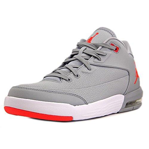 huge discount e77a3 3ebe5 Nike Herren Jordan Flight Origin 3 Basketballschuhe, Gris (Gris (Wolf Grey Infrared  23-White)), 40.5 EU