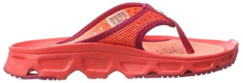 Salomon Damen RX Break Traillaufschuhe Poppy Red/Living Coral/Sangria