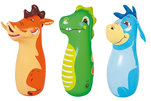 Globo Toys Globo 60853 - Bolsa de Verano, diseño de Animales en 3D, 86 x 46 cm