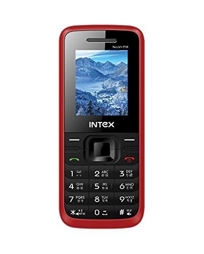 Intex Neo V + FM (Black + Red)