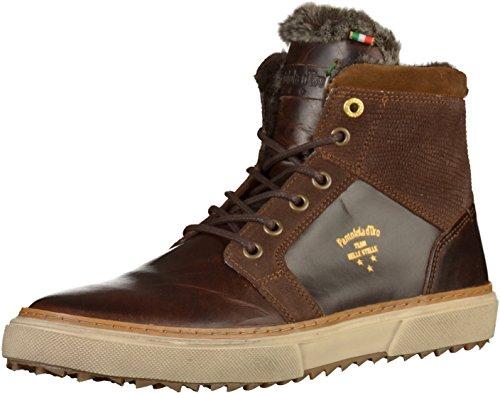 Pantofola d Oro 10173033 hommes Baskets Marron foncé