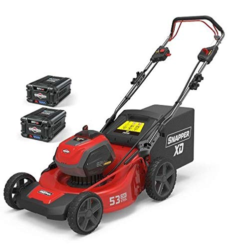 Tondeuse Batterie 53 cm semov. Snapper esxd21wm82 K2 Batteries + Chargeur