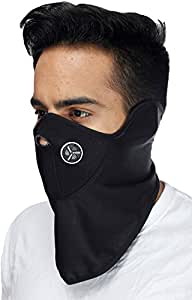 Flomaster Half Face Riding Mask (Black)