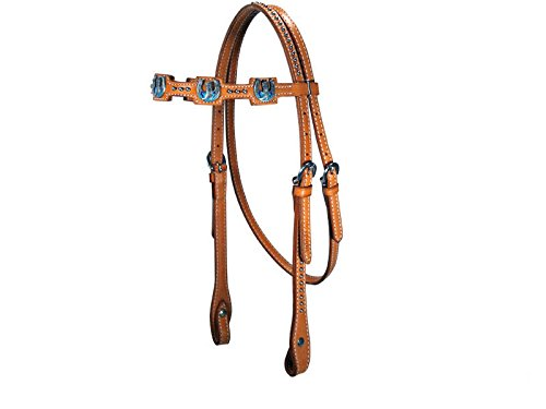 41%2BHk5OC1UL BEST BUY #1Tahoe Tack USA Kickin Country Square Brow Band Full Horse Leather Headstall, London Tan price Reviews uk