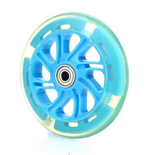 Rosepoem Scooter Lichtrad-LED Scooter Wheels mit 120mm