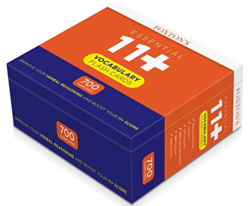 Foxton's 700 Vocabulary Flash Cards for the 11 Plus Exam with Synonyms & Antonyms (Foxtons 11 Plus)