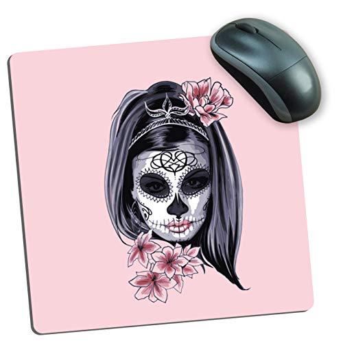My Custom Style Halloween_A Mauspad Microfibra rettangolare Halloween-Donna Scheletro