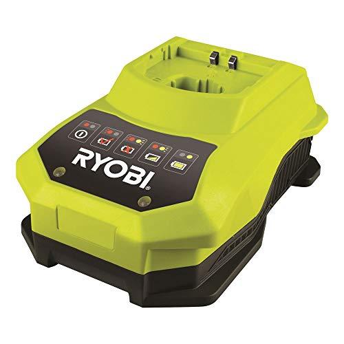 Ryobi 4892210117991 Chargeur Rapide, 18 V, Multicolore