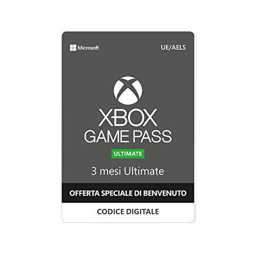 Promozione speciale: xbox game pass ultimate - 3 mesi + gears 5 beta | limite: 1 per ogni account microsoft