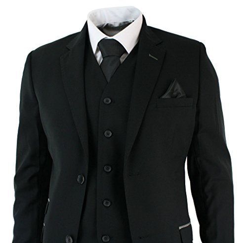 Albrose - Costume - Homme Noir