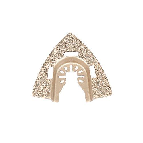 Harpow utensile multifunzione accessori lama per sega in metallo duro triangolo Piastra abrasiva