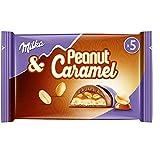 Milka & Peanut Caramel schokolade & Erdnuss Schoko Riegel 5er