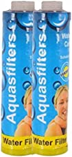 Pk Aqua 2 Pcs Threaded Water Filter Catridge-9'' Prefilter Cartridge For Ro/Aquaguard,Outer Filter Water Purifier+Teflon Tape