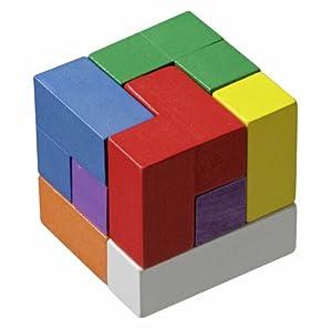 Philos 3519 - Soma Cube, Colorido, Juego de Puzzle