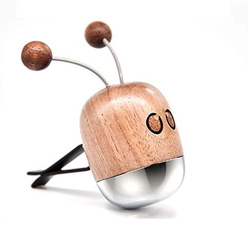 Williamly Aromatherapie Lufterfrischer aus Holz Auto Parfüm kleine Biene Auto Klimaanlage Air Outlet Cute Solid -