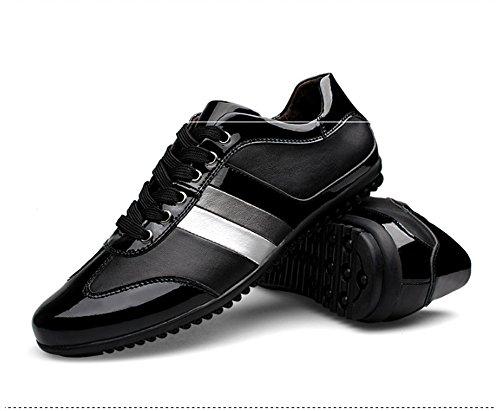 TMKOO Nuove scarpe casual da uomo tendenza scarpe casual da uomo scarpe da uomo di grandi dimensioni Nero