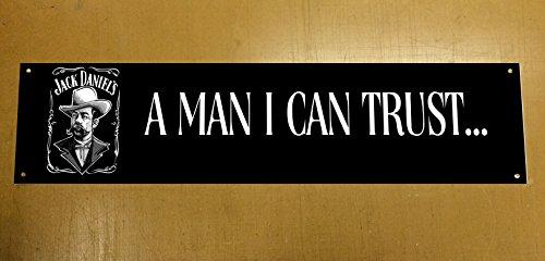 Preisvergleich Produktbild 'Jack Daniels' Banner Windmesser für der Garage,  Man Cave,  Geschenkidee 5 ft x 1 ft