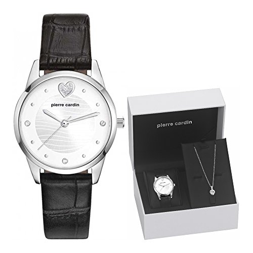 Pierre Cardin Watch Troca Gift Set Jewelery Ladies Silver