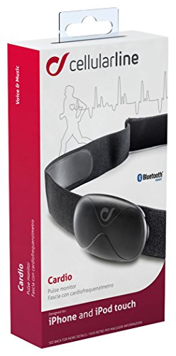 Cellular Line Cardio Fascia con Cardiofrequenzimetro Bluetooth per iPhone