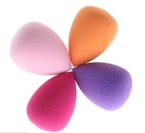 4 X DA. WA Houppette éponge douce Houppette Coussinets Makeup Sponge blender Fond de teint en forme d'œuf de Pro visage Cosmétique Outil