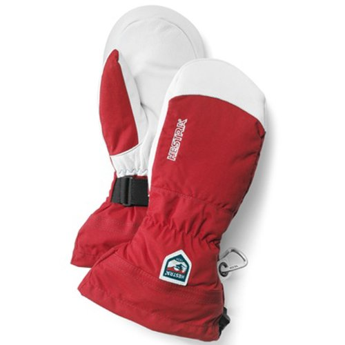 Hestra - Army leather heli ski mitt - rouge - 8 Hestra Heli 3 Finger