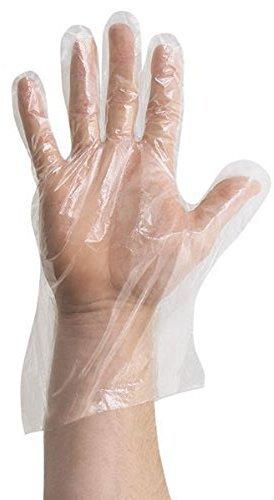 1000PCS Kunststoff Einweg Handschuhe für Kochen Reinigung Sicherheit Handhabung Handschuhe