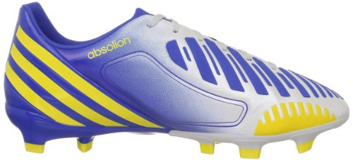 adidas P Absolion Lz Trx Fg, Chaussures de football homme Blanc (Vivid Yellow S13)