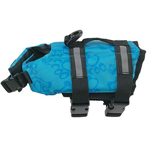 DOGCATMM Haustier Hund Leben Jacke Sicherheit Kleidung Für Hund Badeanzug Pet Leben Weste Hunde Welpen Bademode Haustiere Sicherheit Badeanzug Hunde Schwimmen Anzug