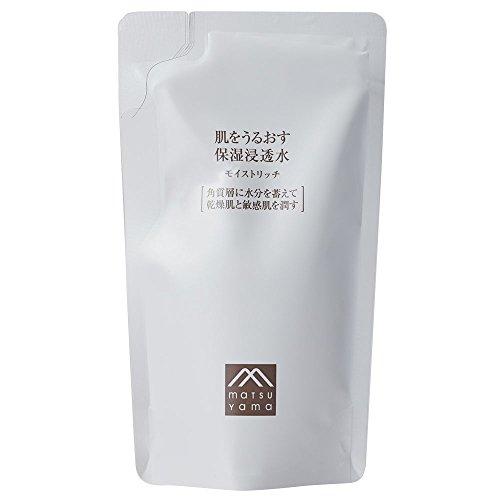 Matsuyama Hadauru Moisturizing Lotion Moist Rich Refill 110ml