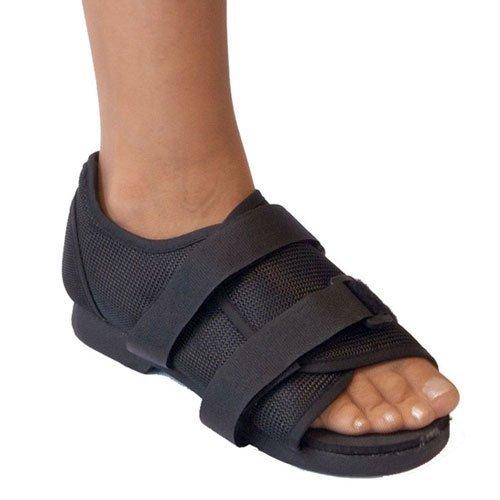 Post-OP-Schuh, leichtes medizinisches Gehen, Orthopädische Stützklammer für strapazierfähige Zehen bei Knochenbrüchen,L -
