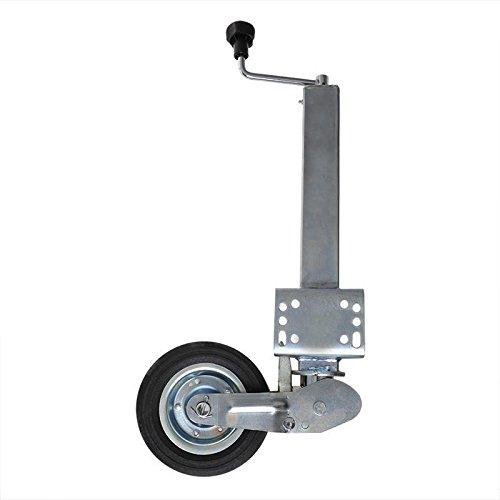 APT Anhänger Stützrad klappbar 60x60mm eckig schwerlast 400kg Bugrad Wohnwagen NEU