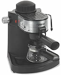 Ovastar Espresso Coffee Maker - Black & Silver