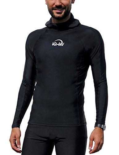 Kleidung 300 Hooded-Shirt Long Sleeve black, XL (54) ()