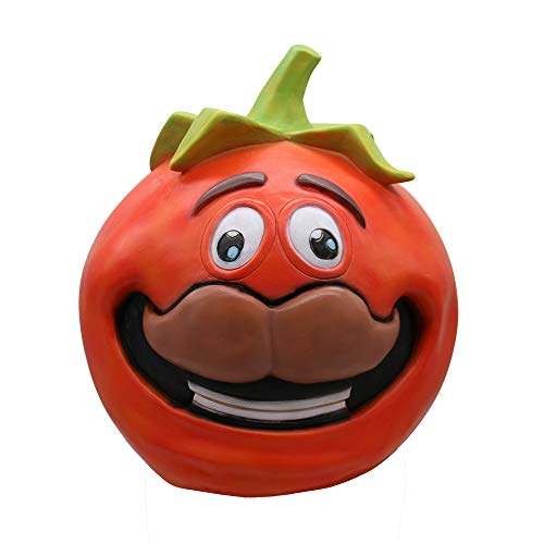 aske, Cosplay Durr Burger Mask Melting Face Latex Costume Mask Toy (Funny Tomato) ()