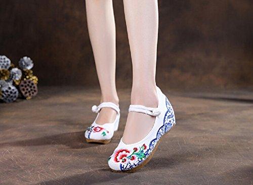 Lazutom, Sandali donna Multicolore Multicolour Taglia unica White