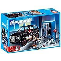 Playmobil - 4059 - Jeu de construction - Voiture et cambrioleur de coffre-fort
