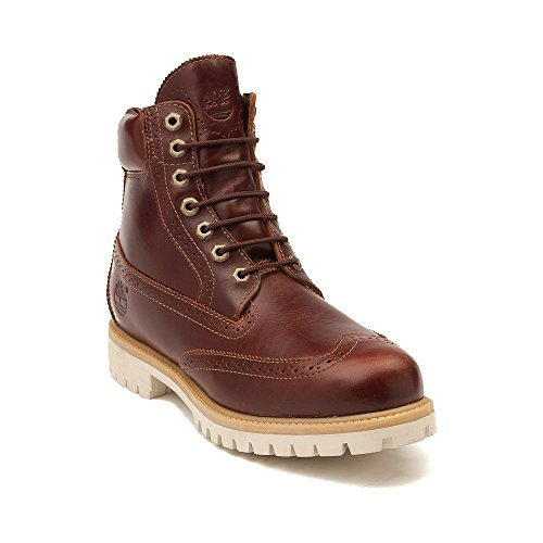 """Timberland Limited Edition Mens 6"""" Classic Premium Boot (Mens 11, Brogue Chestnut)"""