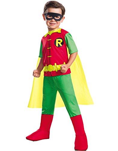 Rubies DC Comics Boys Robin Boy Wonder Costume XS (Robin Wonder Boy)