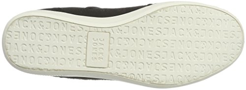 Jack & Jones Jfwbelmont Mixed Anthracite, Sneakers Basses Homme Gris (Anthracite)