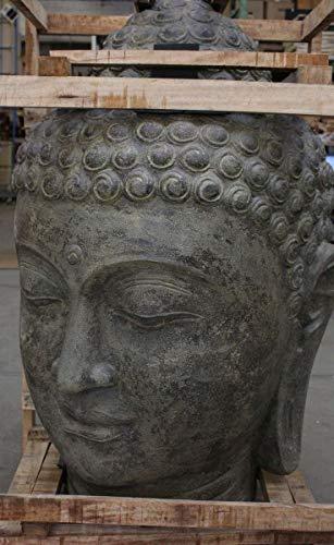 Oriental Galerie Buddha Kopf Groß Stein 120 cm - 3