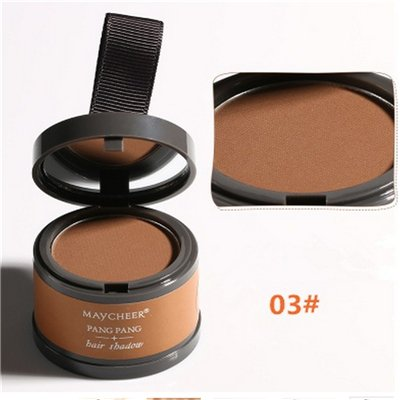 Qibest 1pcs Hair Color ColorWomen Joyous Hairline Shadow Powder Highlights Grooming Hair Shadow Supply New