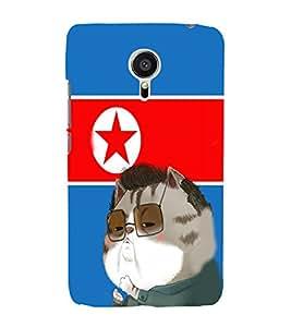 EPICCASE Kim jong cat Mobile Back Case Cover For Meizu MX 5 (Designer Case)