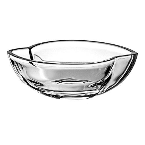Crystaljulia 3249 Bol crystalite Moderne, 18 cm, Transparent
