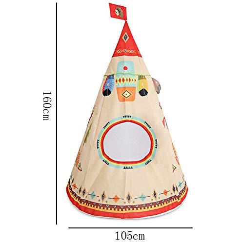 Spiel-Zelt-Innenspielhaus, Gutes Kind-tragbares indisches Schloss-Spielzeug im Freien