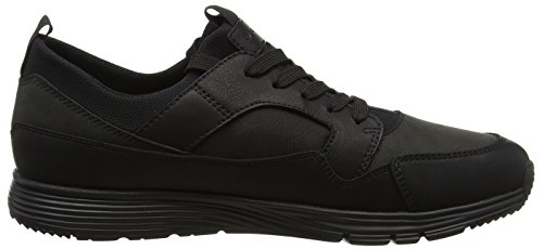 Geox Herren U Snapish A Sneaker Schwarz (Black)