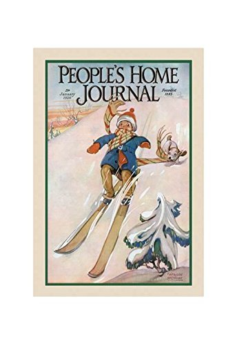 People 's Home Journal: Januar 1926 Kunstdruck (Leinwand Giclée-12 x 18) von Buyenlarge -